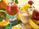 Orangen-Mango-Cocktail Rezept