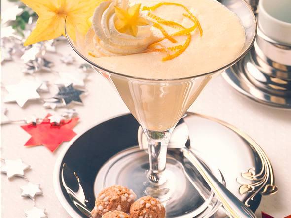 Orangen-Marzipan-Mousse Rezept