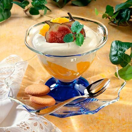 Orangen-Mascarpone-Becher Rezept