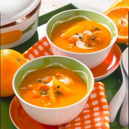 Orangen-Möhren-Suppe Rezept