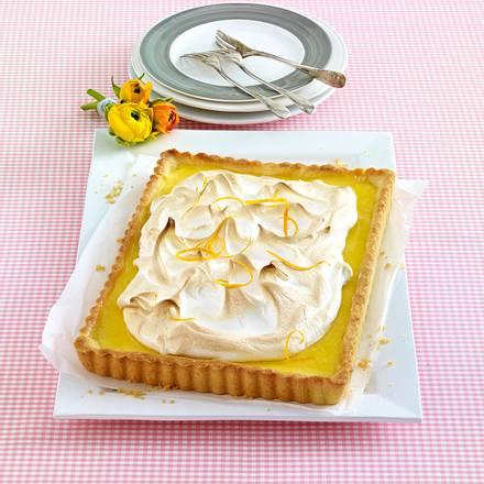 Orangen-Pie mit Baiser Rezept