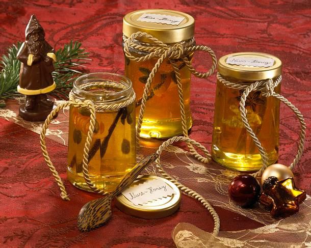Orangen-Pistazien-Vanille-Honig Rezept