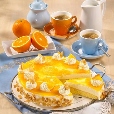 Orangen-Pudding-Kuchen (Diabetiker) Rezept