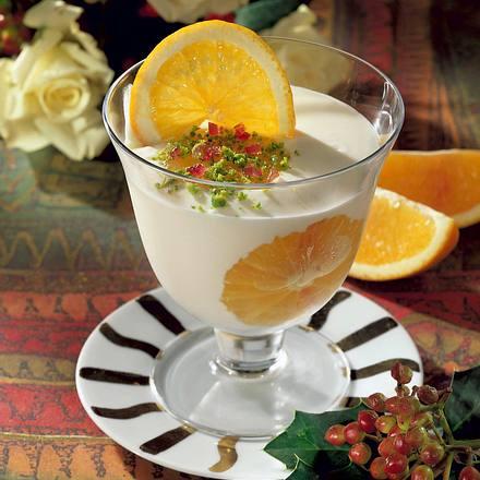 Orangen-Quark-Speise Rezept