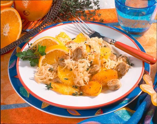 Orangen-Sauerkraut Rezept