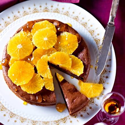 Orangen Schoko Kuchen Rezept Lecker