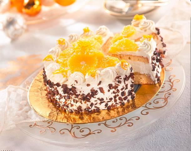 Orangen-Schokoladen-Torte (Diabetiker) Rezept