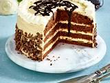Orangen-Schokoladenkuchen mit Dulce de Leche Rezept