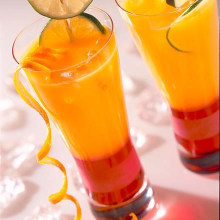Orangen-Sunrise Rezept