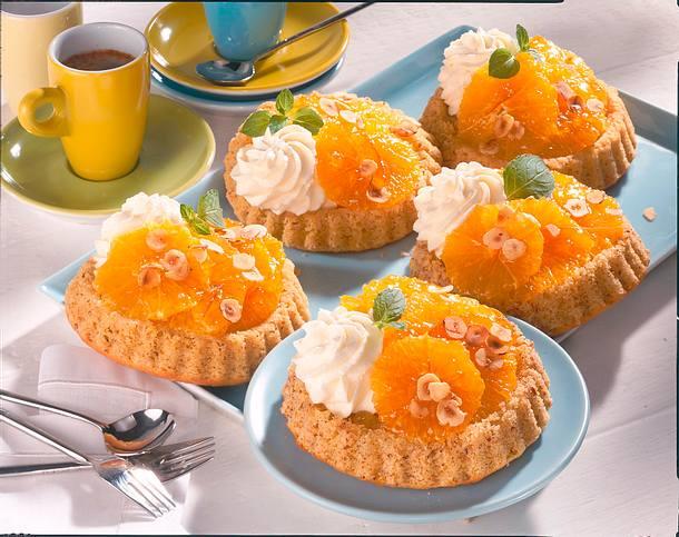 Orangen-Törtchen Rezept