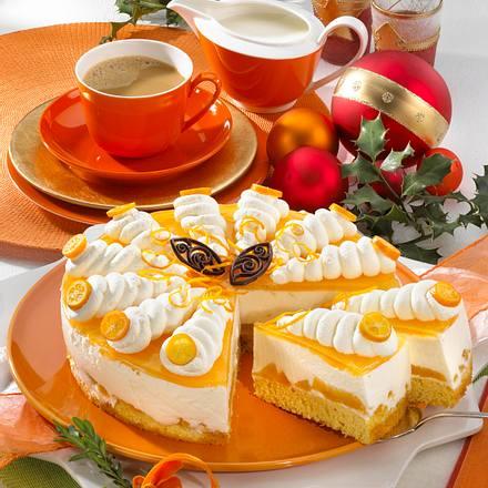 Orangen-Torte Rezept