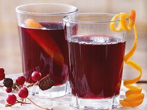 Orangen-Trauben-Glühwein Rezept