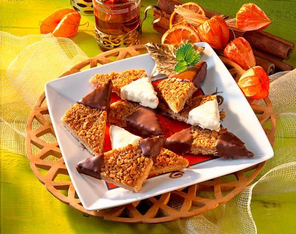 Orangen-Walnuss-Ecken Rezept
