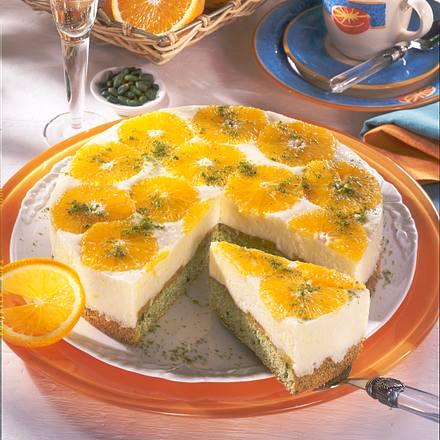 Orangen-Weincreme-Torte Rezept