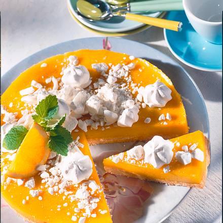 Orangencurd-Torte Rezept