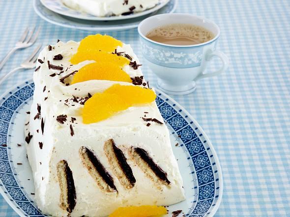 Orangenkeks-Kuchen Rezept