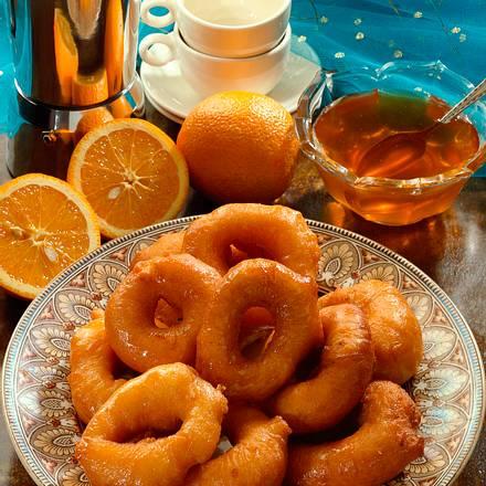 Orangenkrapfen mit Honig Rezept