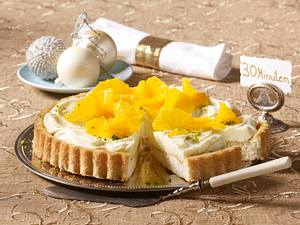 Orangenkuchen mit Mascarponecreme Rezept