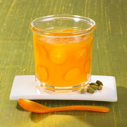 Orangenmarmelade mit Cointreau und Kumquats Rezept