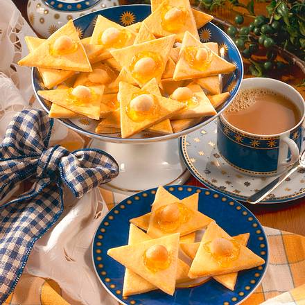 Orangenmürbeteig mit Macadamia-Nüssen Rezept