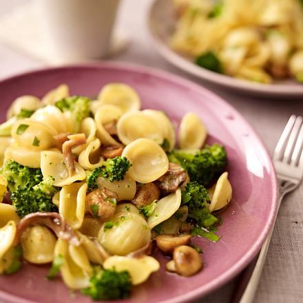 Orecchiette mit Brokkoli & Pilzen Rezept