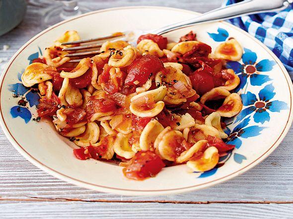Orecchiette mit Sugo von dreierlei Tomaten Rezept