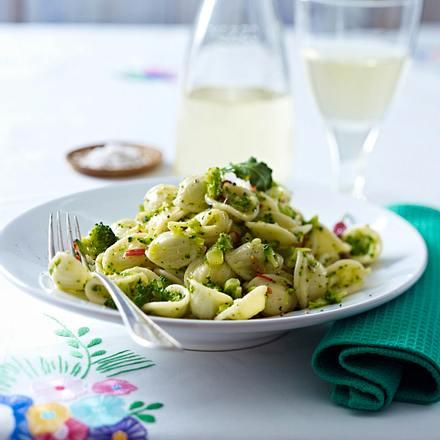 Orecchiette (Nudeln) mit Brokkoli Rezept