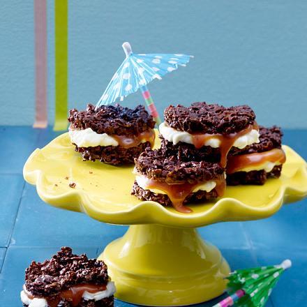 Oreo-Caramel-Cakes Rezept