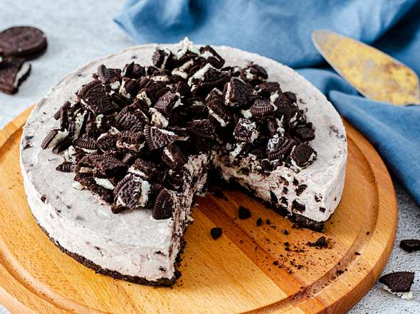 Oreo-Cheesecake Rezept
