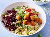 Orientalische Falafel Bowl Rezept