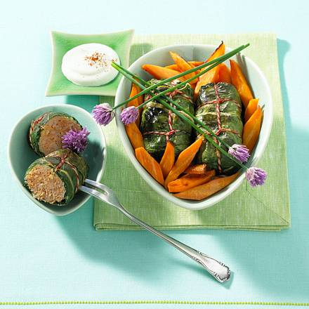 Orientalische Mangoldpäckchen Rezept