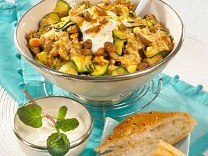 Orientalische-Zucchini-Hackpfanne Rezept