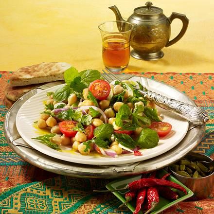 Orientalischer Kichererbsensalat Rezept