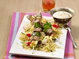 Orientalischer Lamm-Zucchini-Spieß Rezept