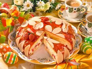 Oster-Marzipan-Torte Rezept