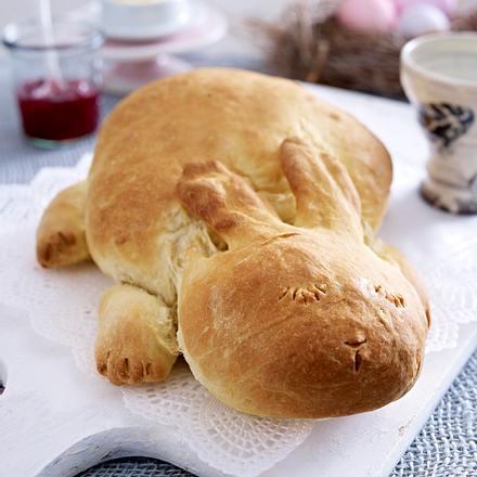 Osterhasen-Brote Rezept
