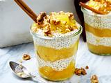 Overnight Oats mit Apfel-Konfitüre Rezept