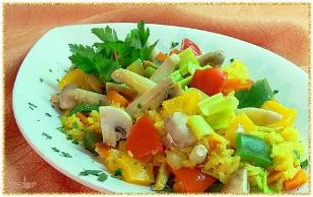 PAELLA - vegetaria Rezept