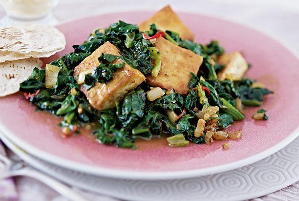 Palak Tofu Rezept