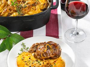 Paletilla de Cordero con Patatas (Lamm mit Kartoffeln) Rezept