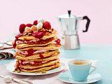 """Pancake-Schichttörtchen """"Immer wieder sonntags"""" Rezept"""