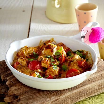 Paneer mit Tomaten Rezept