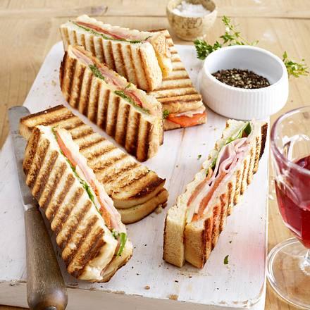 panini mit schinken und paprika rezept chefkoch rezepte auf kochen backen und. Black Bedroom Furniture Sets. Home Design Ideas