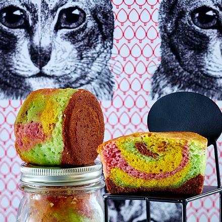 Papageienkuchen im Weckglas Rezept