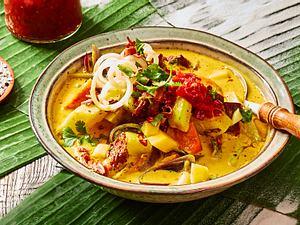 Papaya-Curry mit Pili Pili Rezept