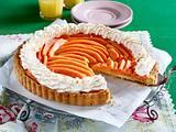 Papaya-Tarte mit Kokosraspel und Baiser Rezept