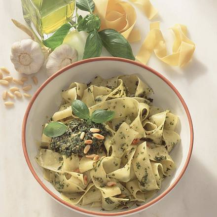 Pappardelle mit Pesto Rezept