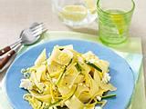 Pappardelle mit Zucchini-Zitrone Soße Rezept