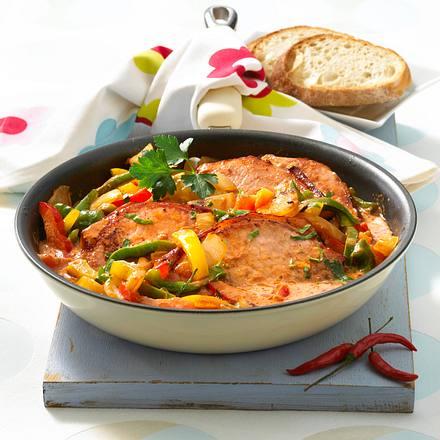 Paprika-Chili-Kasseler Rezept