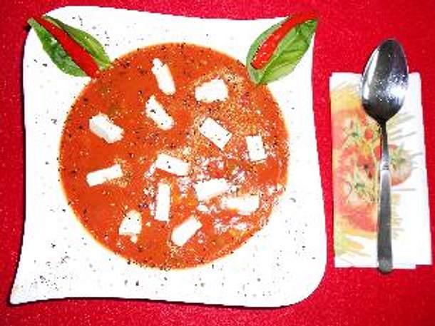 Paprika-Chili-Suppe Rezept